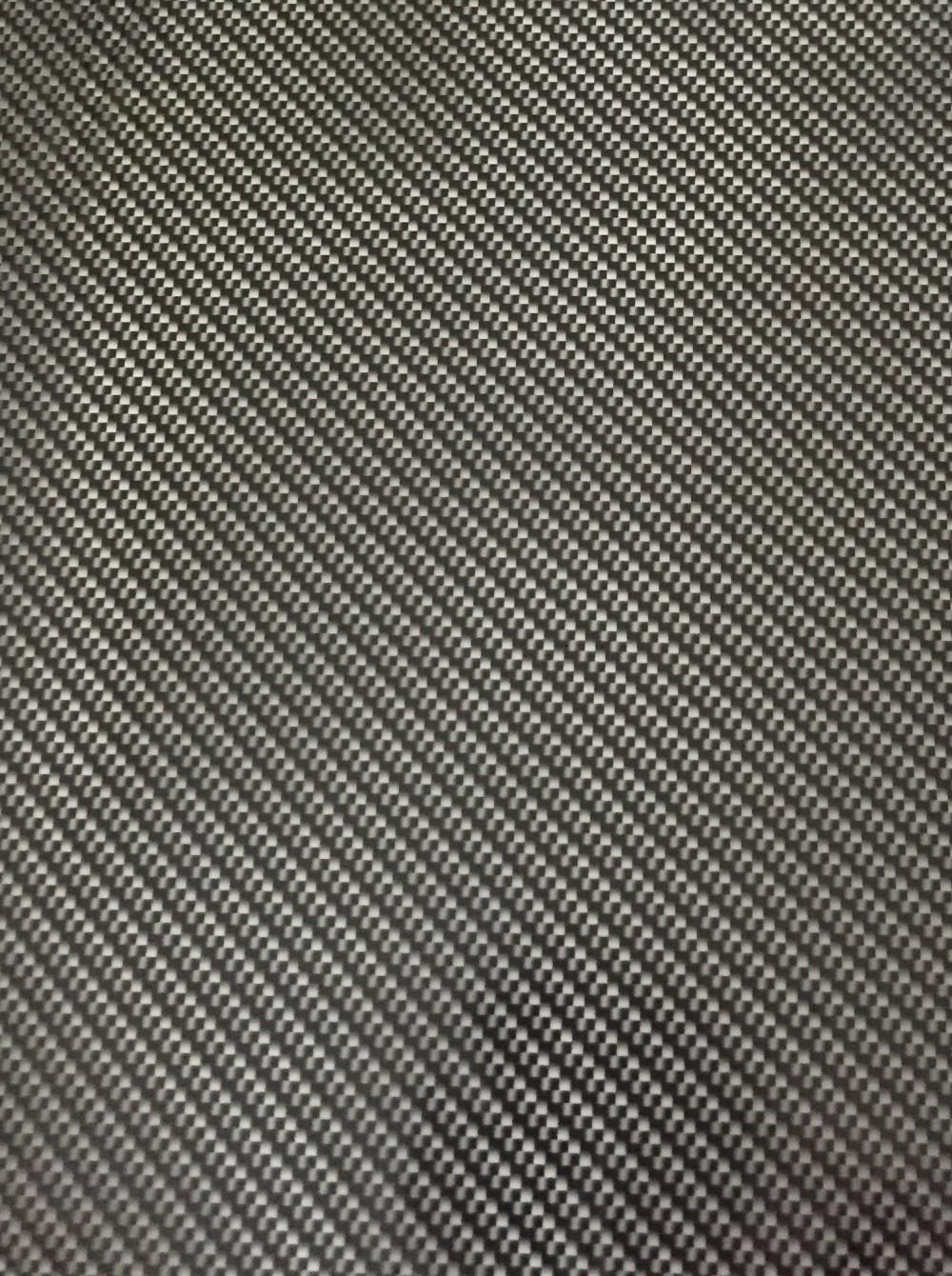 Carbon Black Metallic: Black Carbon Fiber (100cm)