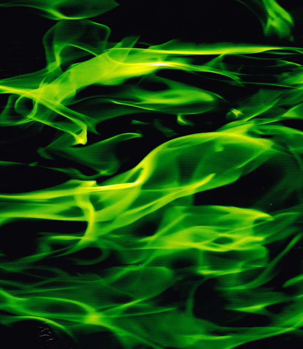 how to make a green flame